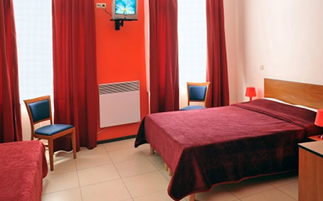 Hotel last minute low cost Bruxelles chambres triple